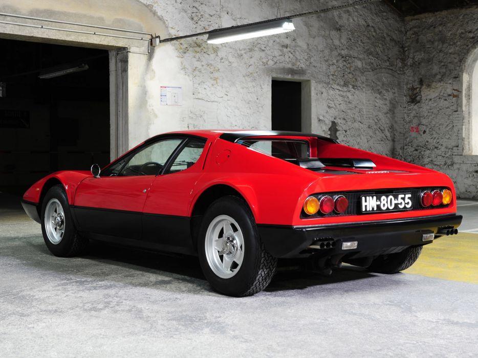 1973 Ferrari 365 GT4 Berlinetta Boxer classic supercar supercars  f wallpaper