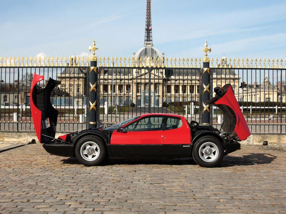 1973 Ferrari 365 GT4 Berlinetta Boxer classic supercar supercars engine engines wallpaper