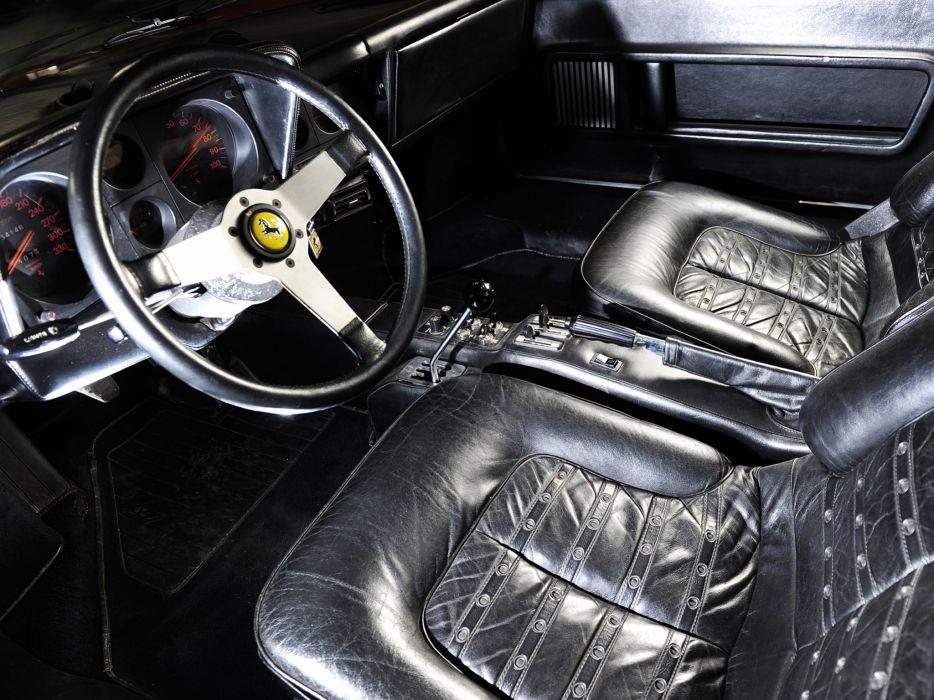 1973 Ferrari 365 GT4 Berlinetta Boxer classic supercar supercars interior wallpaper