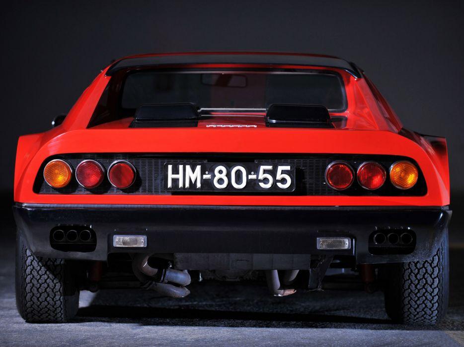 1973 Ferrari 365 GT4 Berlinetta Boxer classic supercar supercars wheel wheels wallpaper
