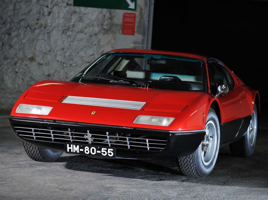 1973 Ferrari 365 GT4 Berlinetta Boxer classic supercar supercars wallpaper