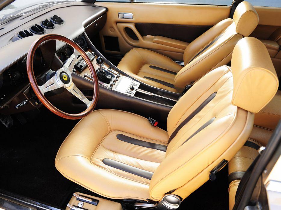 1976 Ferrari 400i classic supercar supercars 400 interior wallpaper