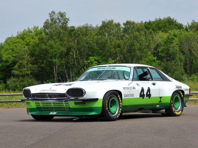 1976 Jaguar XJ-S Trans-Am classic race racing g wallpaper