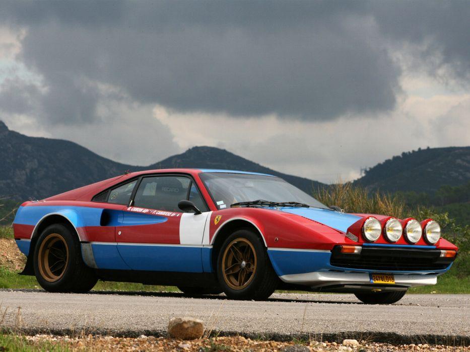 1978 Ferrari 308 GTB Group-4 Michelotto classic supercar supercars race racing    f wallpaper
