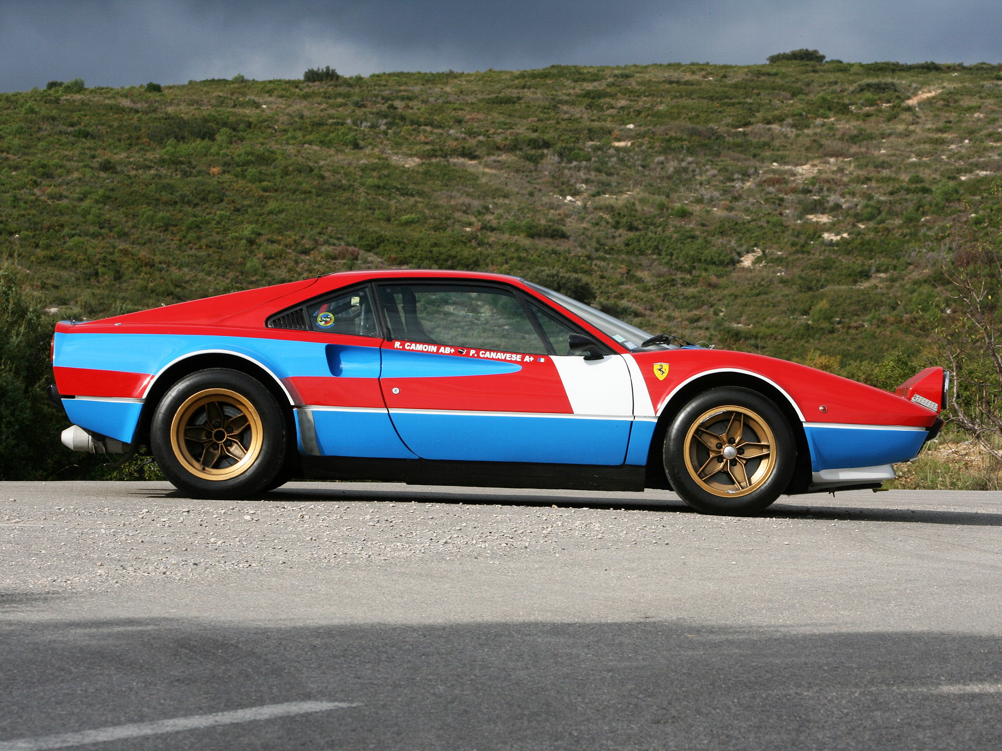 1978 Ferrari 308 GTB Group4 Michelotto classic supercar supercars