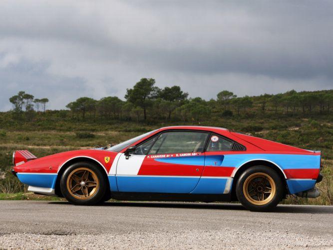 1978 Ferrari 308 GTB Group-4 Michelotto classic supercar supercars race racing g wallpaper