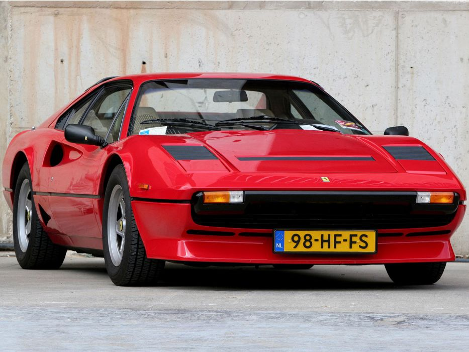 1982 Ferrari 208 GTB Turbo classic supercar supercars   ds wallpaper