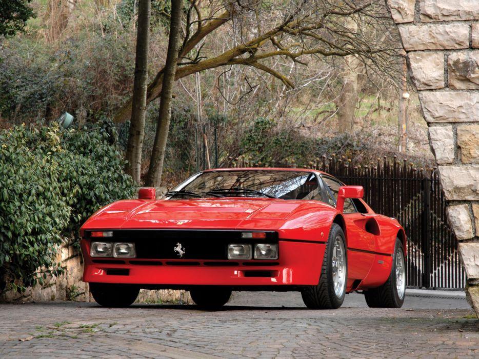 1985 Ferrari 288 GTO classic supercar supercars  f wallpaper