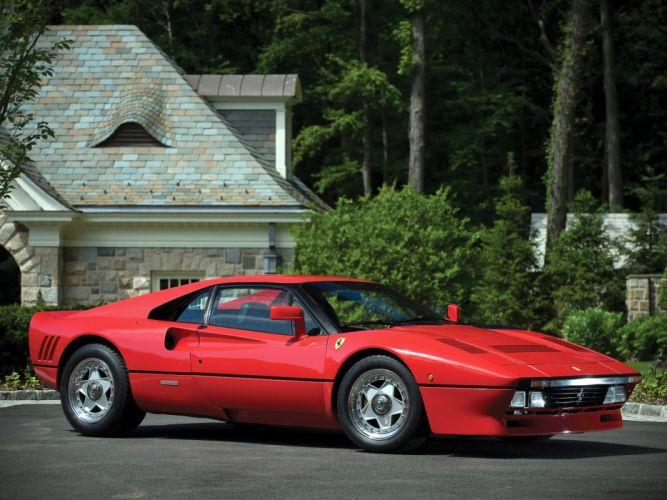 1985 Ferrari 288 GTO classic supercar supercars hf wallpaper