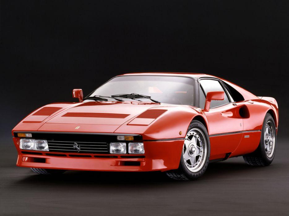 1985 Ferrari 288 GTO classic supercar supercars wallpaper