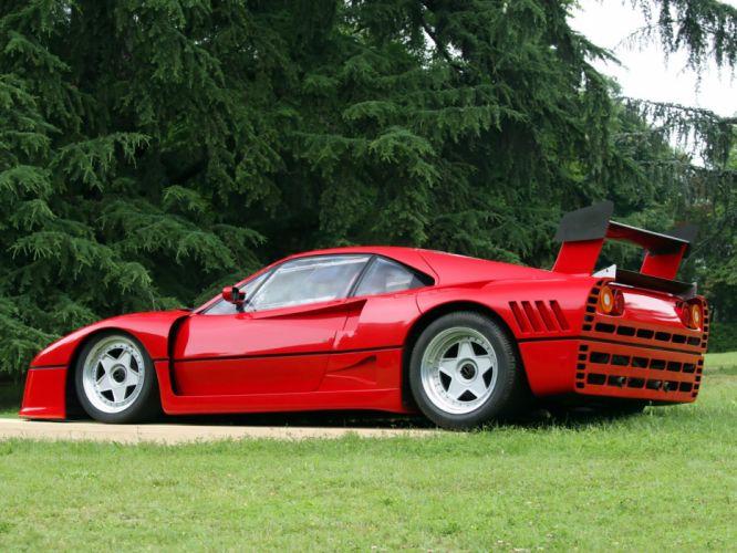 1985 Ferrari 288 GTO Evoluzione classic supercar supercars d wallpaper