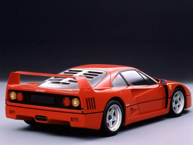 1987 Ferrari F40 classic supercar supercars g wallpaper