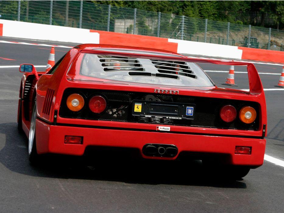 1987 Ferrari F40 classic supercar supercars  f wallpaper