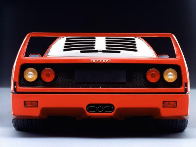 1987 Ferrari F40 classic supercar supercars fd wallpaper