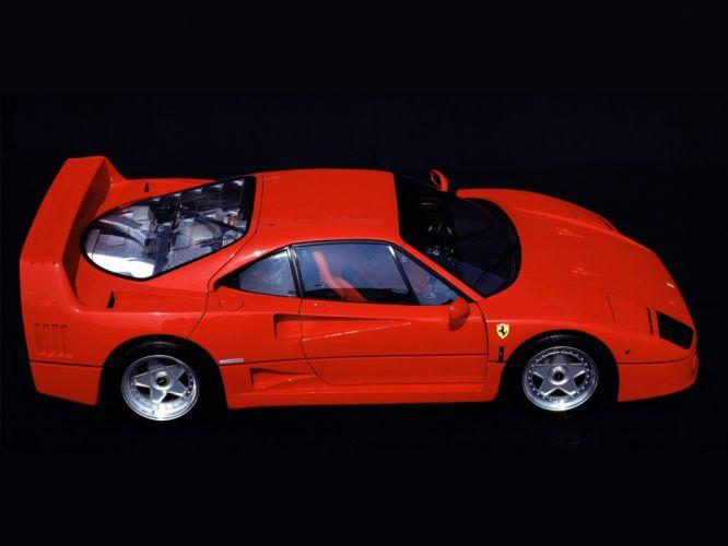 1987 Ferrari F40 classic supercar supercars engine engines wheel wheels f wallpaper