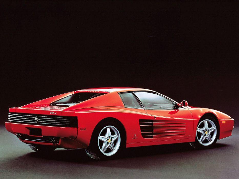 1991 Ferrari 512 TR Testarossa supercar supercars 512-tr  f wallpaper