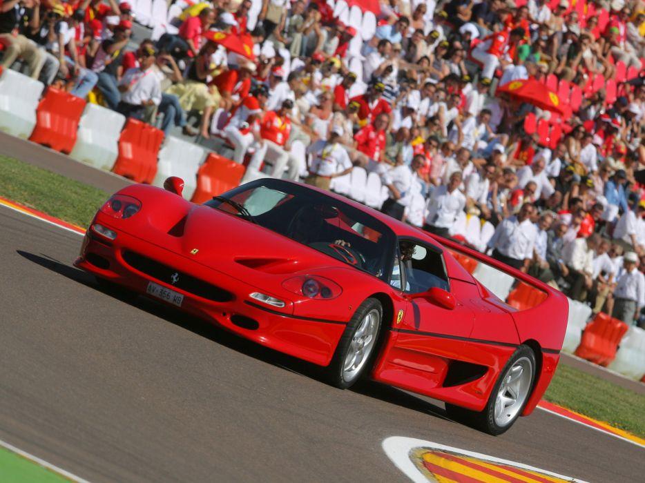 1995 Ferrari F50 supercar supercars   g wallpaper