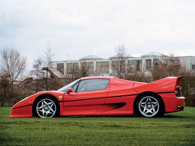 1995 Ferrari F50 supercar supercars gd wallpaper