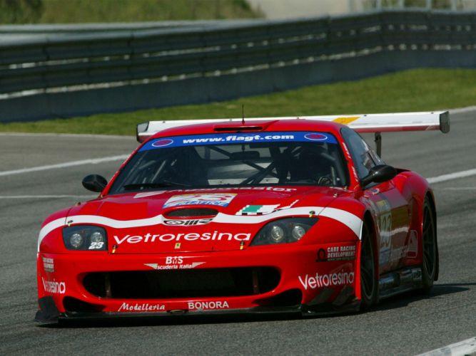 2001 Ferrari 550 GTS Maranello race racing supercar supercars wallpaper