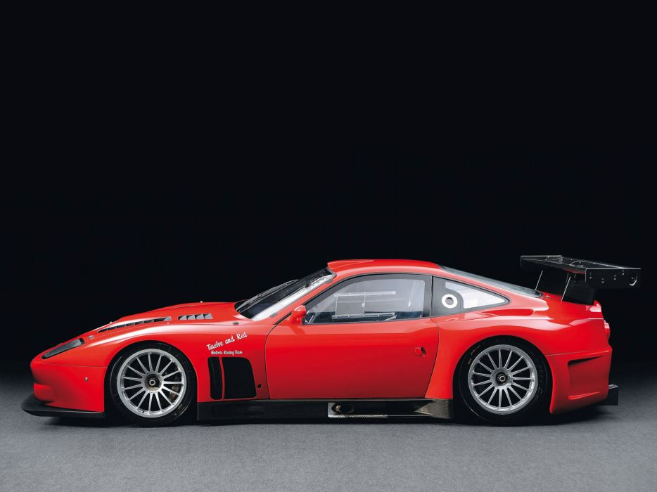 2004 Ferrari 575 GTC race racing supercar supercars f wallpaper