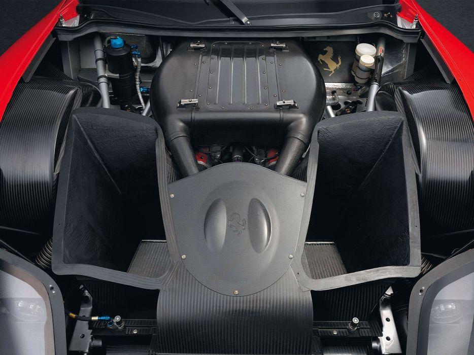 2004 Ferrari 575 GTC race racing supercar supercars engine engines          f wallpaper