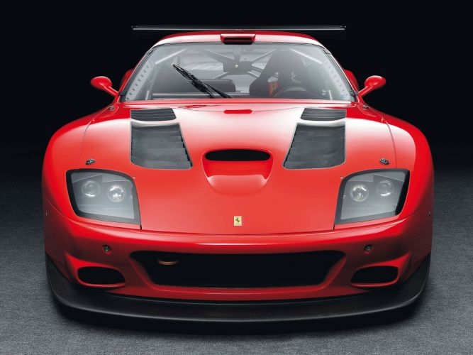 2004 Ferrari 575 GTC race racing supercar supercars interior wallpaper