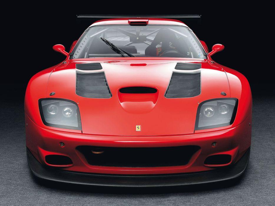 2004 Ferrari 575 GTC race racing supercar supercars interior wallpaper