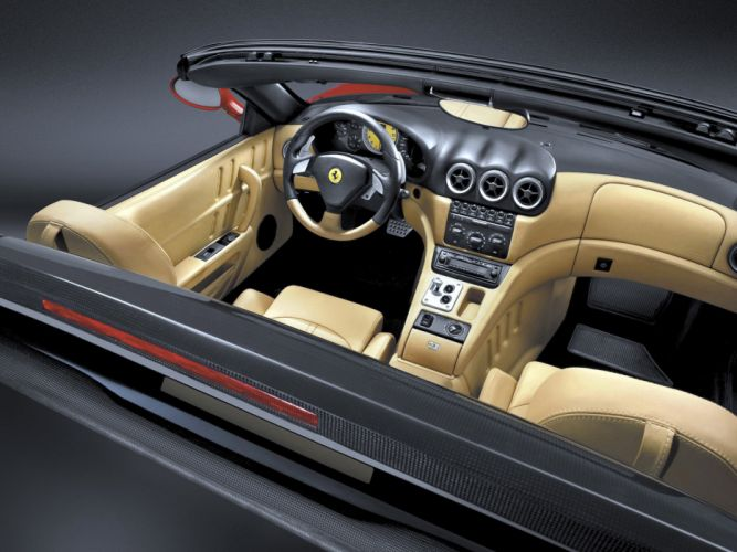 2005 Ferrari 575M Superamerica supercars supercar 575 interior c wallpaper
