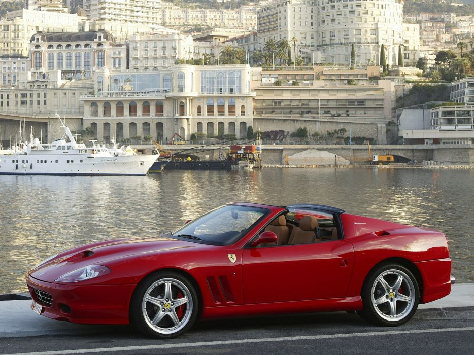 2005 Ferrari 575M Superamerica supercars supercar 575 f wallpaper