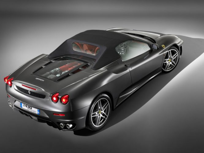 2005 Ferrari F430 Spyder supercar supercars engine engines wallpaper