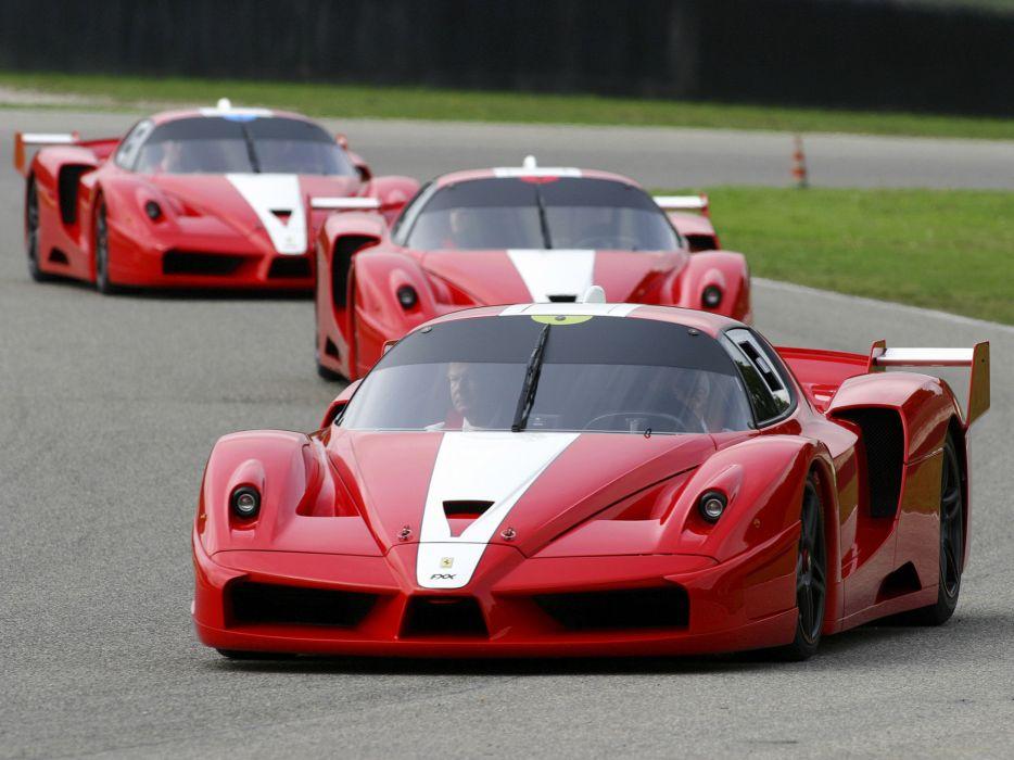 2005 Ferrari FXX race racing supercar supercars   f wallpaper