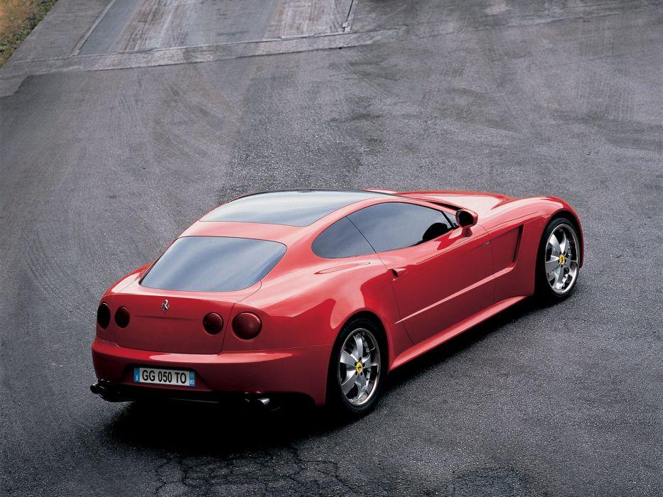 2005 Ferrari GG50 Concept supercar supercars    d wallpaper