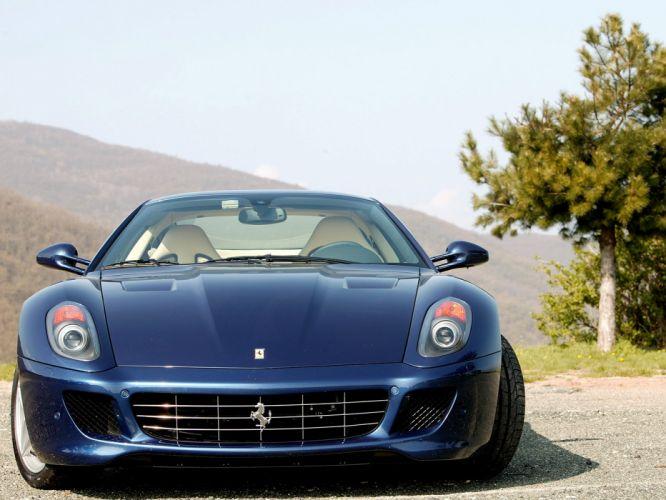 2006 Ferrari 599 GTB supercar supercars da wallpaper