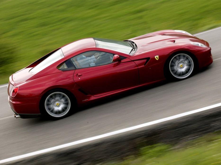 2006 Ferrari 599 GTB supercar supercars  df wallpaper