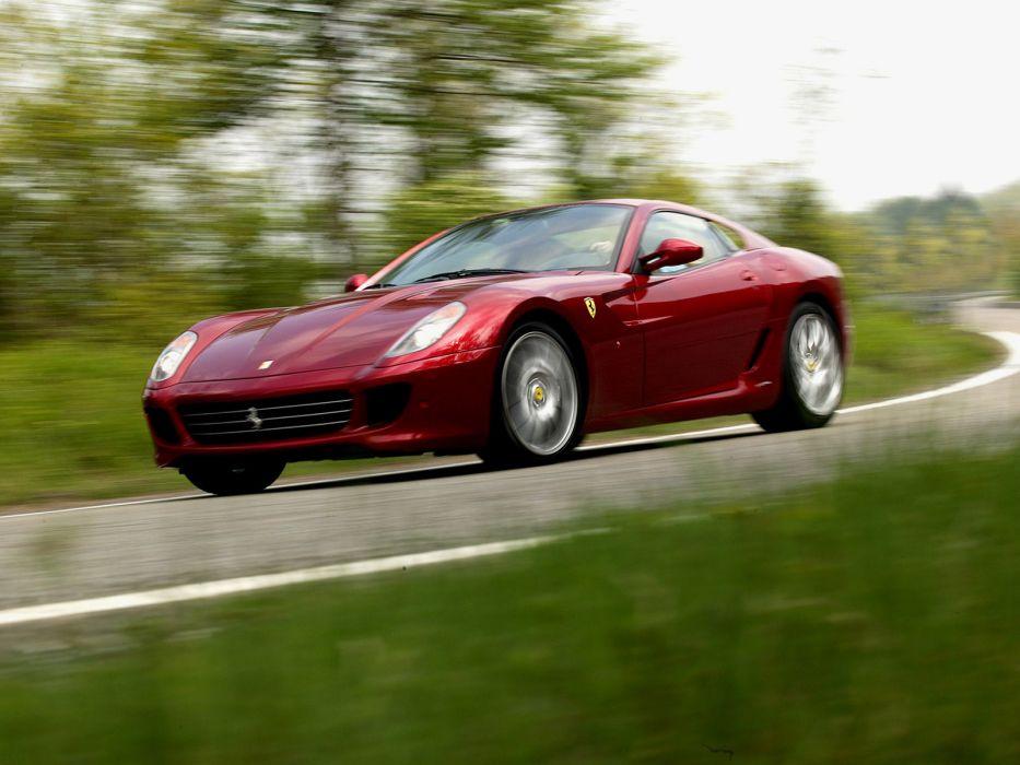2006 Ferrari 599 GTB supercar supercars  j wallpaper