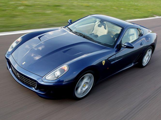 2006 Ferrari 599 GTB supercar supercars d wallpaper
