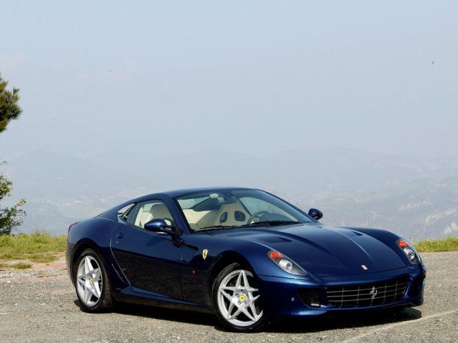 2006 Ferrari 599 GTB supercar supercars f wallpaper