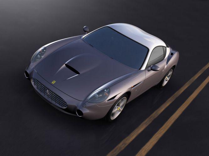 2006 Ferrari Zagato 575 GTZ supercar supercars f wallpaper