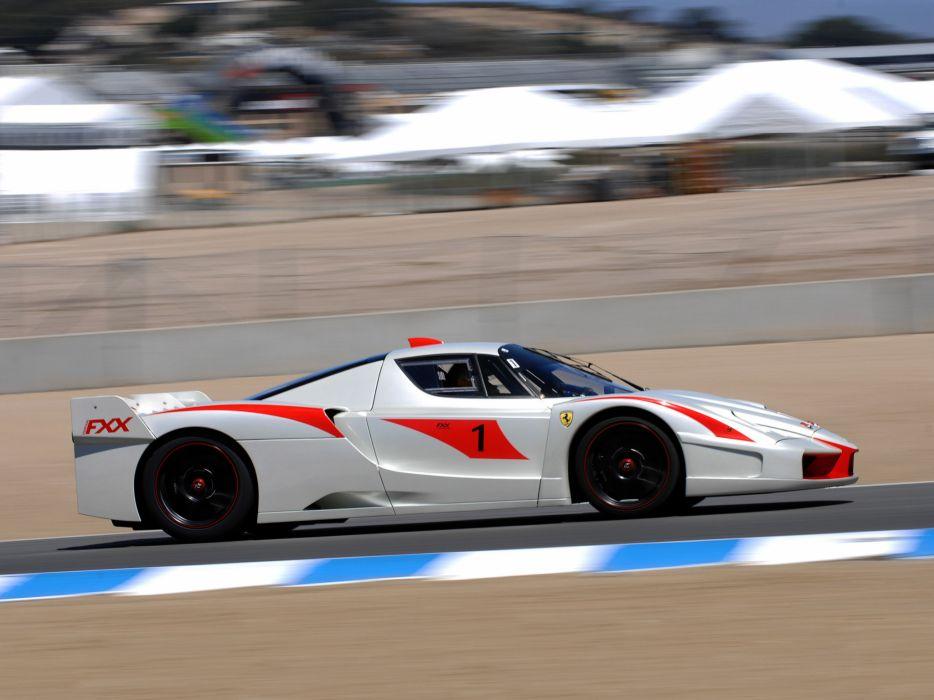 2008 Ferrari Fxx Evolution Supercar Supercars Race Racing H