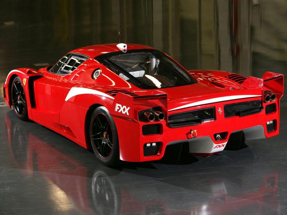 2008 Ferrari FXX Evolution supercar supercars race racing engine engines wallpaper