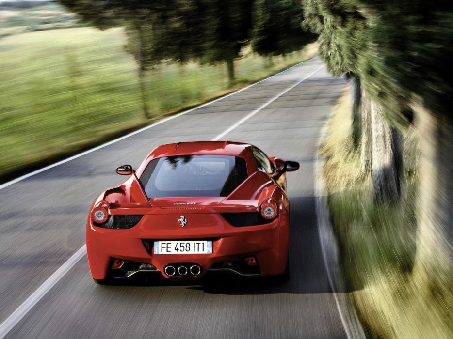 2009 Ferrari 458 Italia supercar supercars f wallpaper