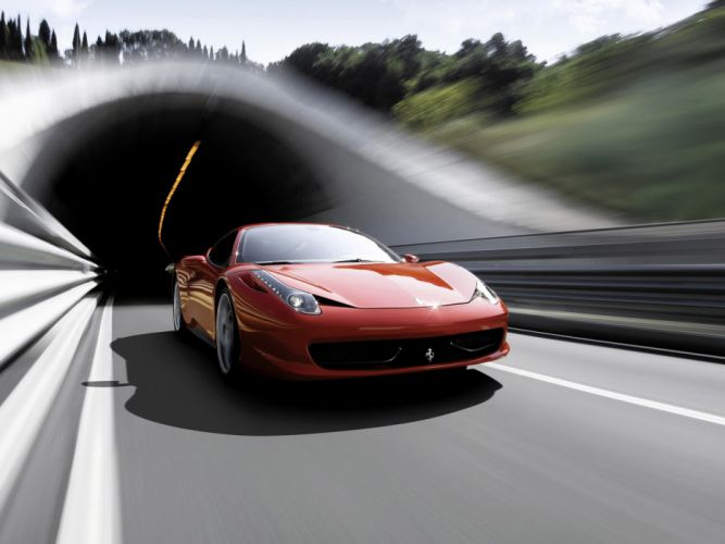 2009 Ferrari 458 Italia supercar supercars d wallpaper