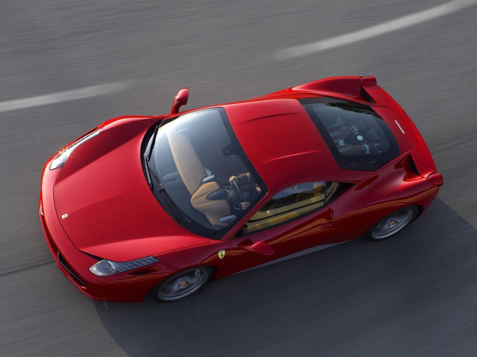 2009 Ferrari 458 Italia supercar supercars engine engines     f wallpaper