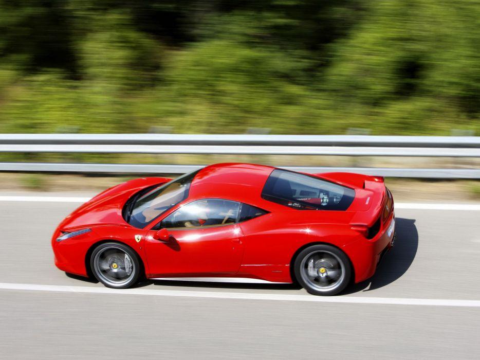 2009 Ferrari 458 Italia supercar supercars engine engines  g wallpaper