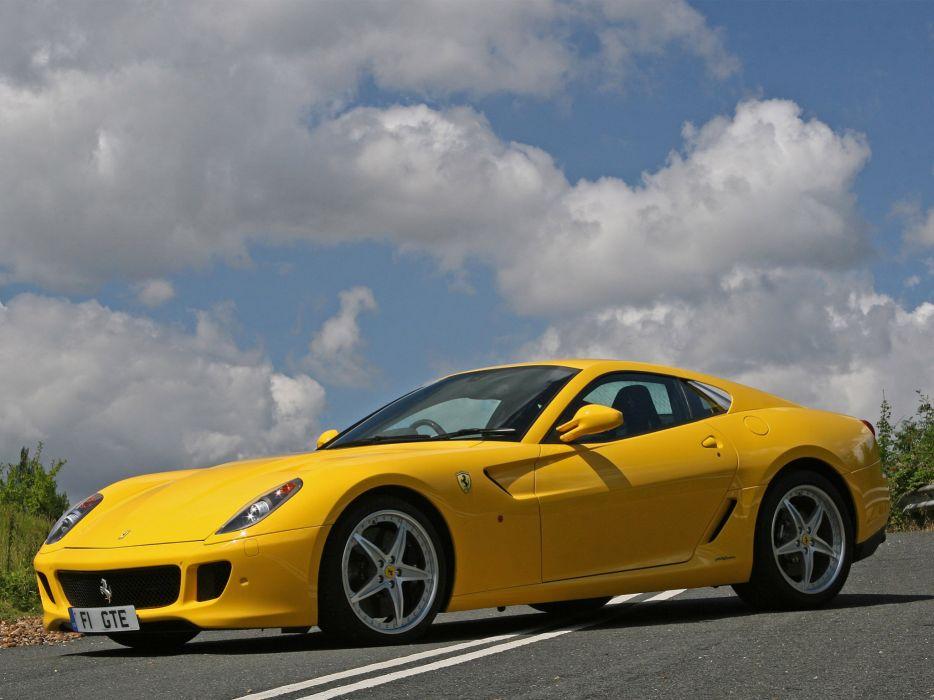 2009 Ferrari 599 GTB Fiorano HGTE supercar supercars d wallpaper