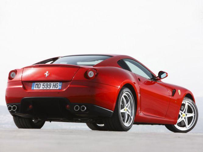 2009 Ferrari 599 GTB Fiorano HGTE supercar supercars j wallpaper