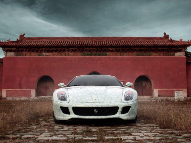 2009 Ferrari 599 GTB Fiorano supercar supercars g wallpaper