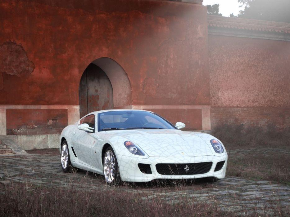 2009 Ferrari 599 GTB Fiorano supercar supercars wallpaper