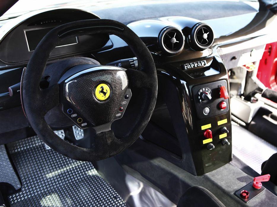 2009 Ferrari 599XX supercar supercars race racing interior wallpaper