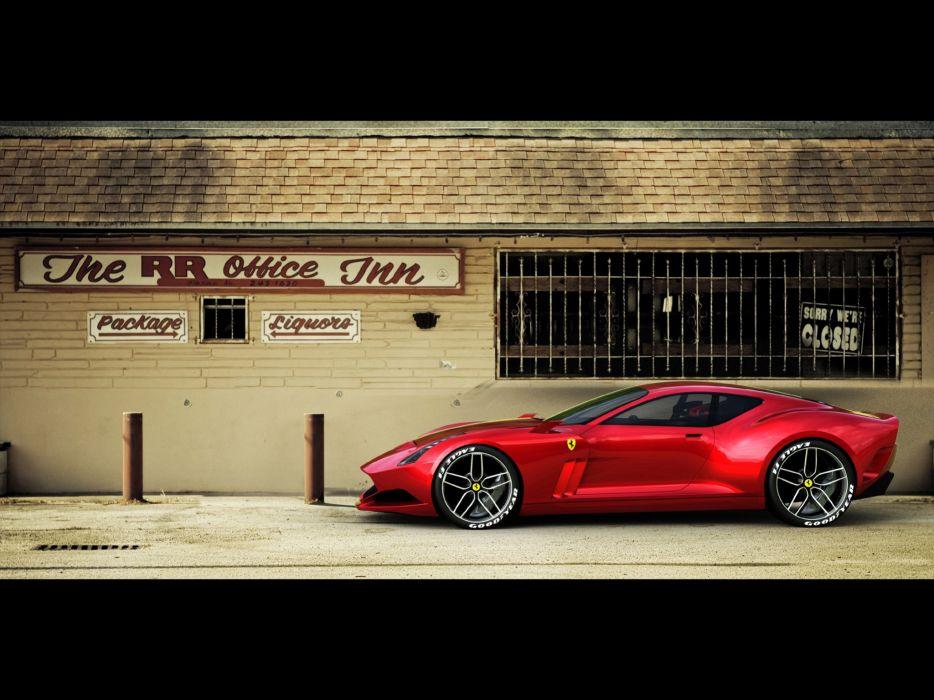 2009 Ferrari 612 GTO supercar supercars    f wallpaper
